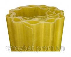 Прозрачный шифер в рулоне Волнопласт желтый 1,5м х 10 м