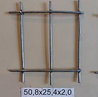 Сетка сварная 50,8х25,4х2,0 оцинкованная с повышенной защитой от коррозии