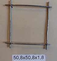 Сетка сварная 50,8х50,8х1,8 оцинкованная (цинк 20 г/м2)