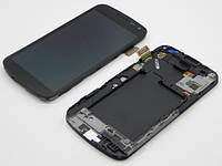 Дисплей (Lcd) Samsung i9250 Galaxy Nexus black + touchscreen with frame original