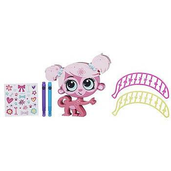 Творчий набір Прикрась тваринку Рожева мавпочка Lіttlest Pet Shop Hasbro B0095