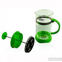 Стеклянный френч пресс peterhof ph-12531-3-gr зеленный 350 мл