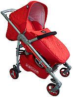 Коляска прогулочная BabyLuxe ruby (красная) 208S