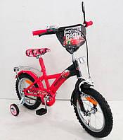 """Велосипед 2-х колёсный 14"""" (161402) со звонком, зеркалом"""