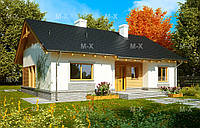MX108. Компактный одноэтажный дом