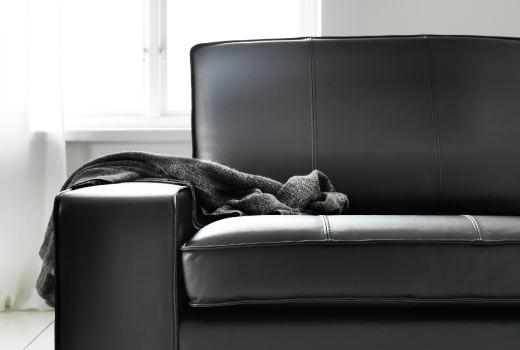 Диваны и кресла с обивкой из кожи и искусственной кожи IKEA