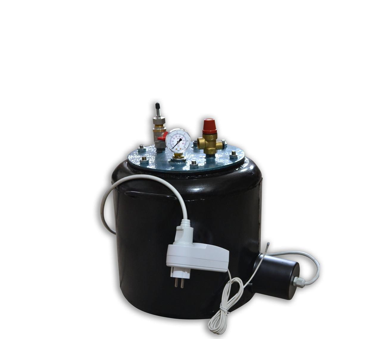 Автоклав бытовой УТех-8 electro: чёрный металл, объем бака 14 л - Сто грамм в Киеве