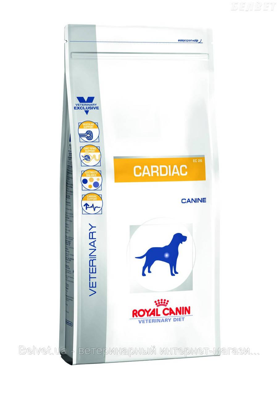 Royal Canin CARDIAC - диета для собак при сердечной недостаточности 2 кг