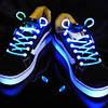 Светящиеся шнурки (СИНИЕ led светодиодные)