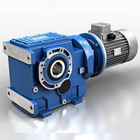 Коническо-цилиндрический мотор-редуктор Motovario (Италия), фото 1