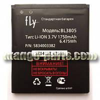 Аккумулятор Fly BL3805/IQ4404/1750mAh оригинал