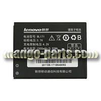 Аккумулятор Lenovo BL171/A356/A368/A370e/A376/A390/A390T/A500/A60/A65,1500 mAh,оригинал