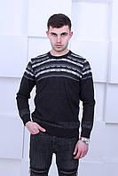 Мужской свитер Турецкого производства с узором