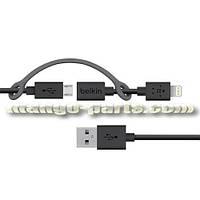Belkin кабель 0,9m 2in1 Apple Lighting+Micro USB + коробка