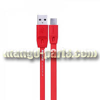Remax microUSB кабель Full Speed 1,0m red