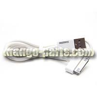 Remax USB iPhone 4/iPod/iPad кабель Classic Fast Charging , 1м белый
