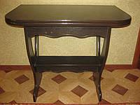 Кухонный стол  ЦЕЗАРЬ 2 раскладной венге магия