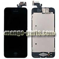 LCD Дисплей+сенсор  iPhone 5G черный high copy (упаковочная коробка)
