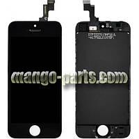 LCD Дисплей+сенсор  iPhone 5S/5SE черный high copy (T/M)