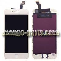 LCD Дисплей+сенсор  iPhone 6 белый high copy (упаковочная коробка)