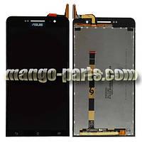 LCD Дисплей+сенсор  Asus ZenFone 6 (A600CG/A601CG),черный