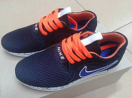 Модные подростковые летние кроссовки,синие EXTREM  С-65
