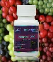 Ресвератрол + витамин Е - капсулы OPC .Мощный антиоксидант.