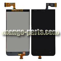 LCD Дисплей+сенсор HTC Desire 300/301e черный high copy