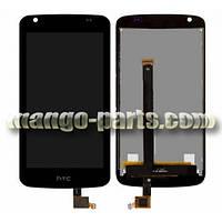 LCD Дисплей+сенсор HTC Desire 326G Dual Sim 128 x 66mm черный оригинал