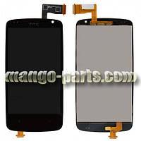 LCD Дисплей+сенсор HTC Desire 500/506e Z4 черный,оригинал