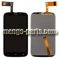 LCD Дисплей+сенсор HTC Desire V T328w черный high copy