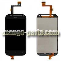 LCD Дисплей+сенсор HTC One SV C520e C525e черный