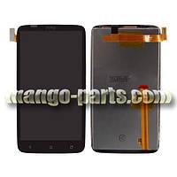 LCD Дисплей+сенсор HTC One X  S720e G23 черный,оригинал (Китай)