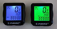 Велокомпьютер INBIKE IC528 (проводной с подсветкой экрана и датчиком температуры, водонепроницаемый)