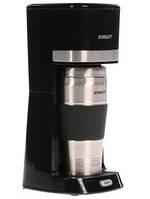 Капельная кофеварка с термостаканом Scarlett SC-CM33002 Черный цвет 650 Вт обьем 450мл