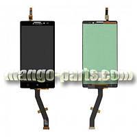 LCD Дисплей+сенсор  Lenovo  K910 Vibe  Z черный