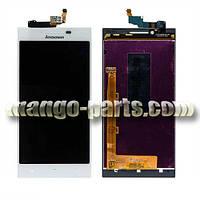 LCD Дисплей+сенсор  Lenovo  P70 белый high copy