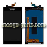 LCD Дисплей+сенсор  Lenovo  P70 черный  high copy