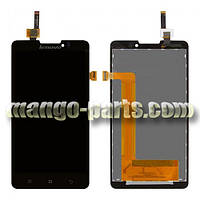 LCD Дисплей+сенсор  Lenovo  P780 черный