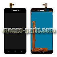 LCD Дисплей+сенсор  Lenovo  S60 черный high copy