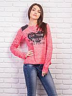 Кофточка из микродайвинга, цвет: розовый меланж