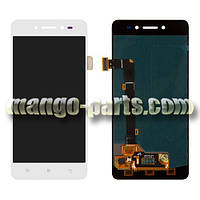 LCD Дисплей+сенсор  Lenovo  S90 белый high copy