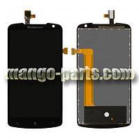 LCD Дисплей+сенсор  Lenovo  S920 (Big IC) черный  high copy