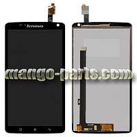LCD Дисплей+сенсор  Lenovo  S930 (Big IC) черный  high copy