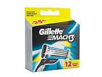 Сменные картриджи для бритья Gillette Mach 3 (12 шт)