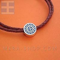 Звезда Эрцгаммы кулон-бусина из серебра