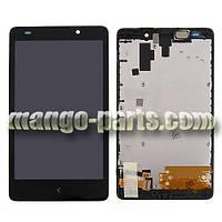 LCD Дисплей+сенсор  Nokia  XL  RM-1030 с рамкой high copy