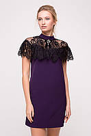Вечернее платье с французским кружевом 2 цвета
