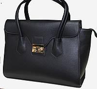 Саквояж Женский большой Fashion Искусственная кожа 17-662-1 Черный