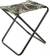 Маленький складной стул табурет: 52x32x10 см, алюминий + полиэстер
